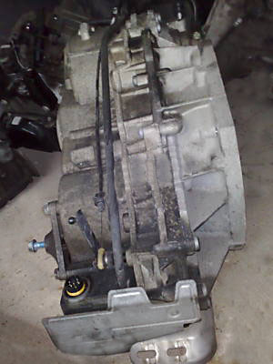 Repairing automatic transmission of MB A Class